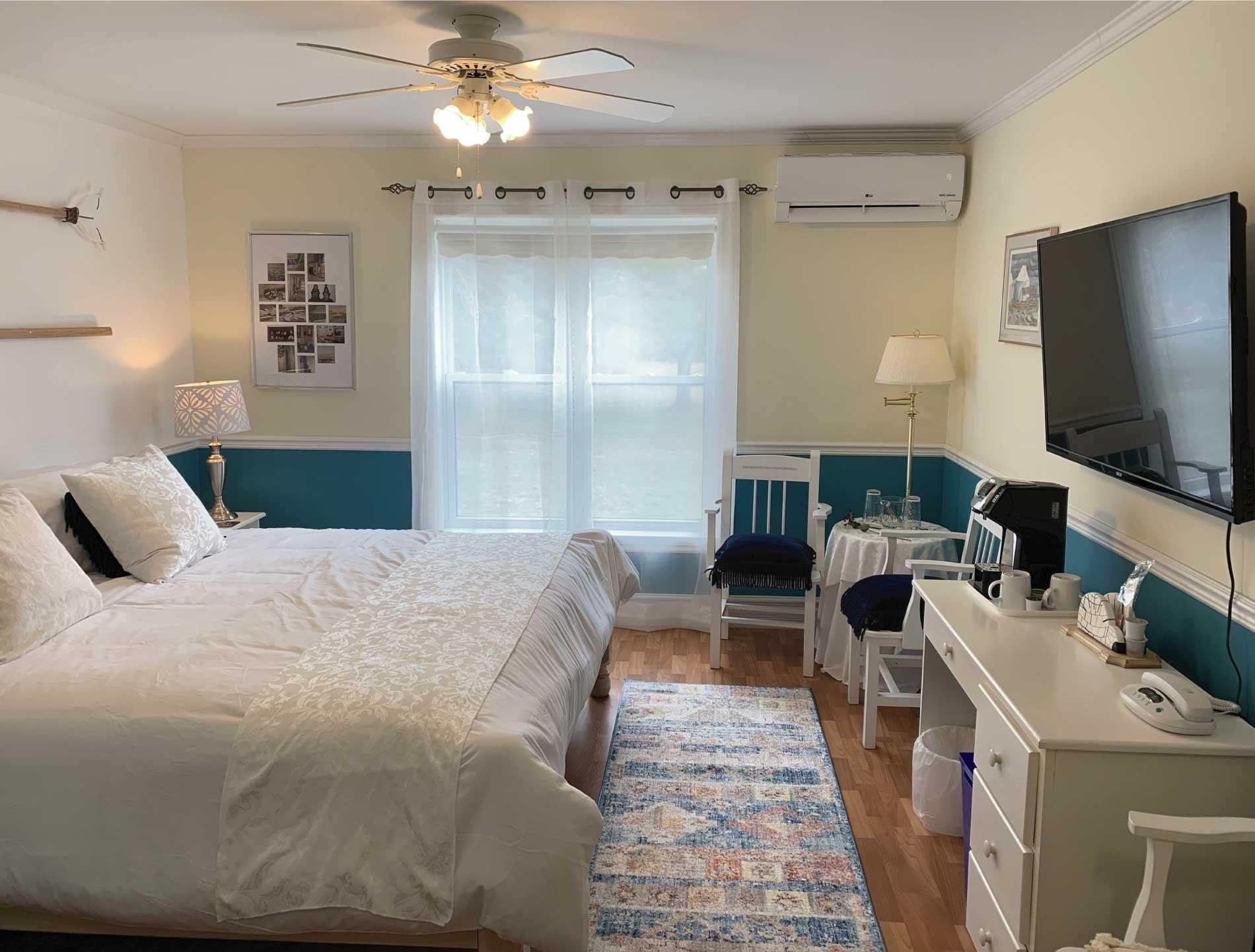 Relax in  the luxury of Parrsboro Mansion inn